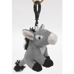 Plush Donkey Key Holder