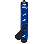 Ovation FootZees Socks-Sky Horses