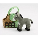 Plush Purse w/Donkey