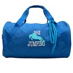Embroidered Duffle Bag-Made for Jumping