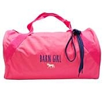 Embroidered Duffle Bag-Barn Girl