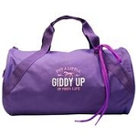 Embroidered Duffle Bag-Giddy Up
