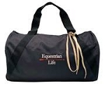 Embroidered Duffle Bag-Equestrian Life