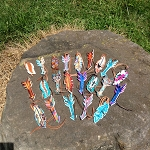 Painted Feather and Painted Arrows