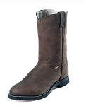 Temple Brown Justin Men's Western Boots