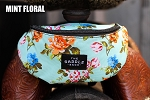 The Saddle Sack-Mint Floral